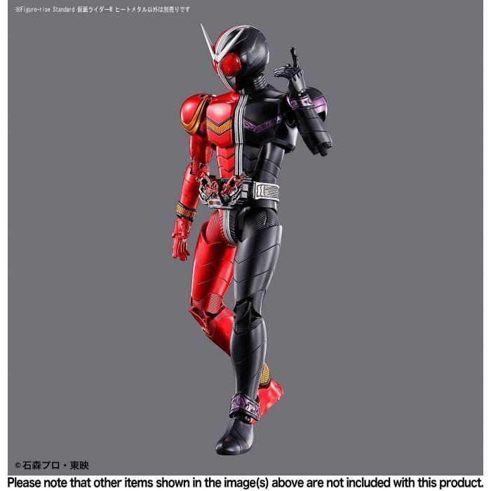 Kamen Rider Double Heatmetal Figure Rise Standard Pose 8