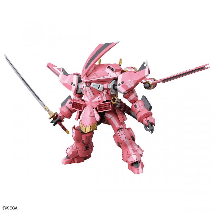 1/24 Spiricle Striker Prototype Obu Sakura Amamiya Type Pose 2