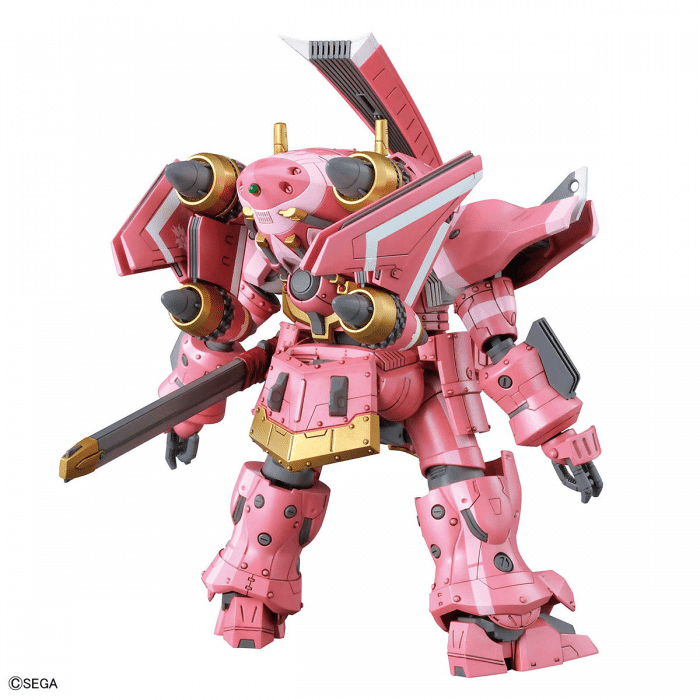 1/24 Spiricle Striker Prototype Obu Sakura Amamiya Type Pose 3