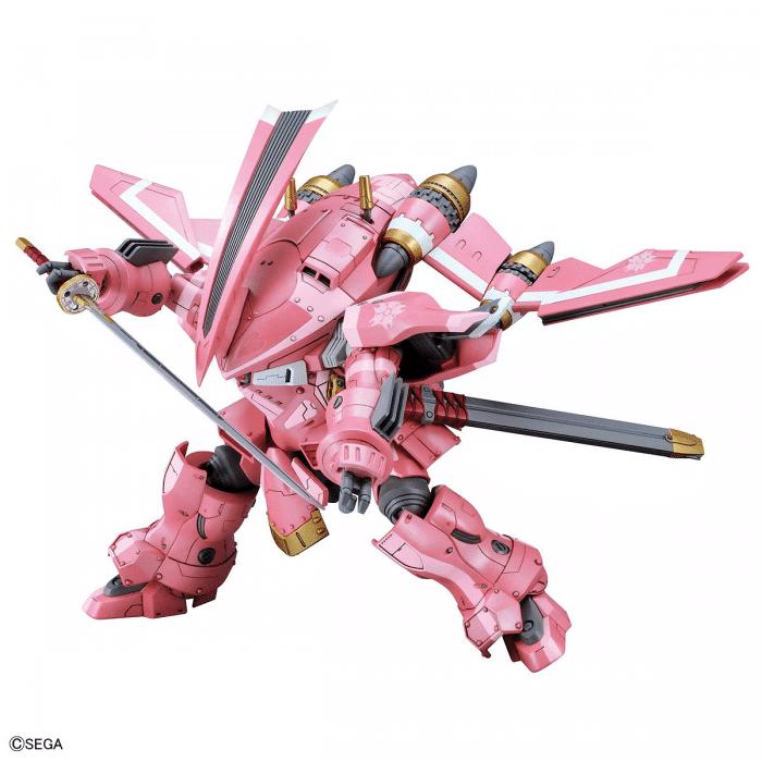 1/24 Spiricle Striker Prototype Obu Sakura Amamiya Type Pose 4