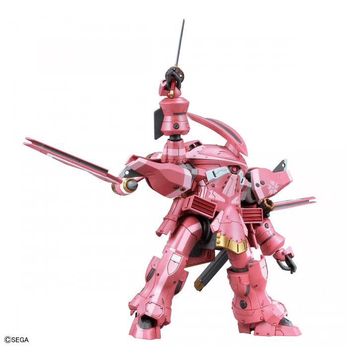 1/24 Spiricle Striker Prototype Obu Sakura Amamiya Type Pose 5