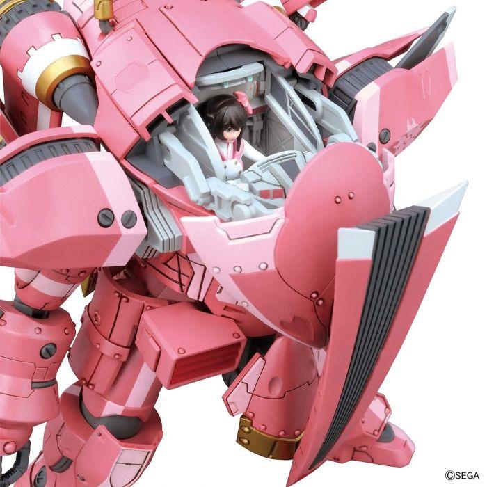 1/24 Spiricle Striker Prototype Obu Sakura Amamiya Type Pose 6