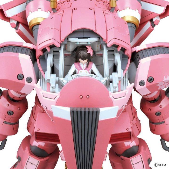 1/24 Spiricle Striker Prototype Obu Sakura Amamiya Type Pose 7