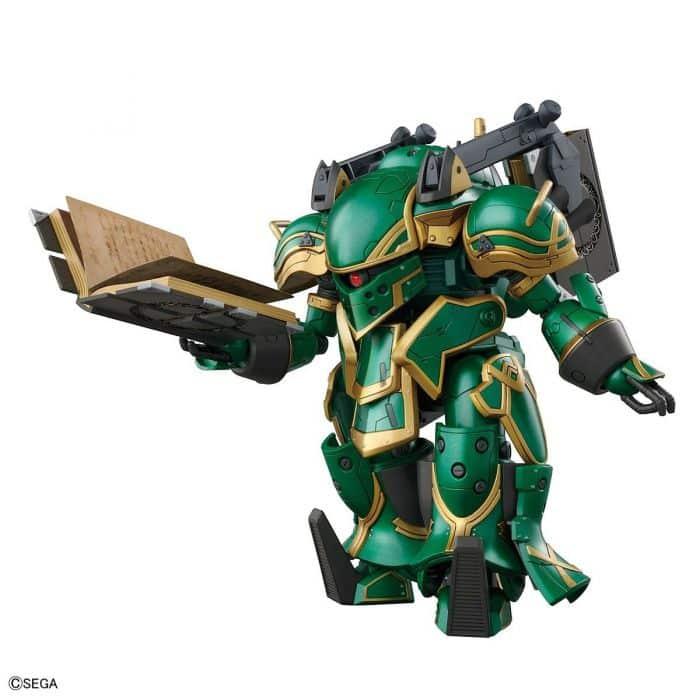 1/24 Spiricle Striker Mugen Claris Type Pose 1
