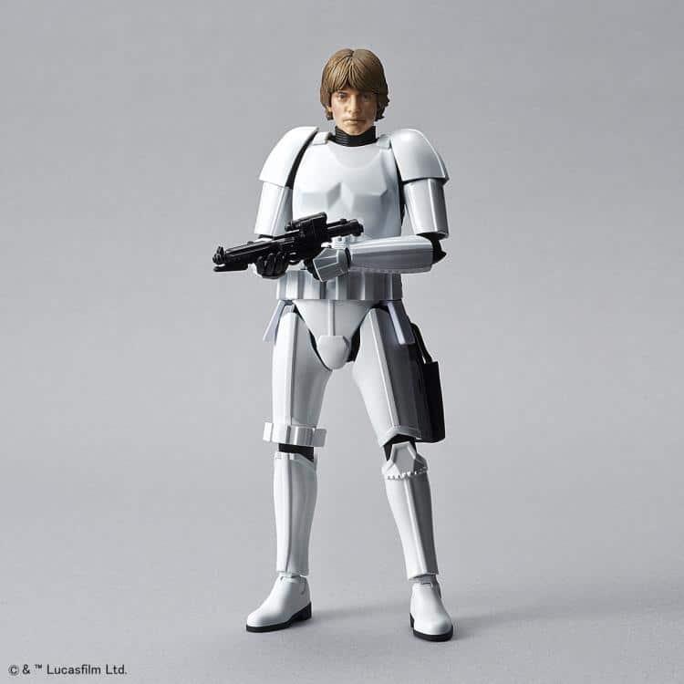 1/12 Luke Skywalker Stormtrooper Model Kit Pose 3