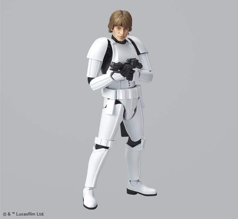 1/12 Luke Skywalker Stormtrooper Model Kit Pose 7