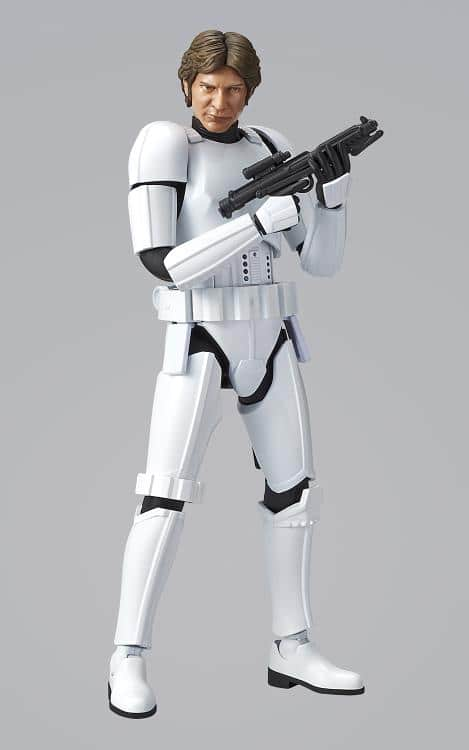 1/12 Han Solo Stormtrooper Model Kit Pose 3