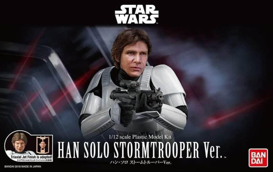 1/12 Han Solo Stormtrooper Model Kit Box