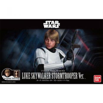 1/12 Luke Skywalker Stormtrooper Model Kit Box