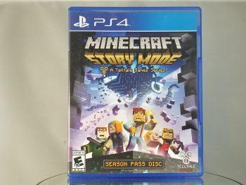 Minecraft Story Mode Season Pass Disc Front