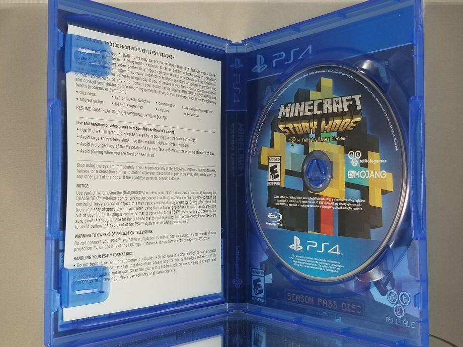Minecraft Story Mode Season Pass Disc Disc