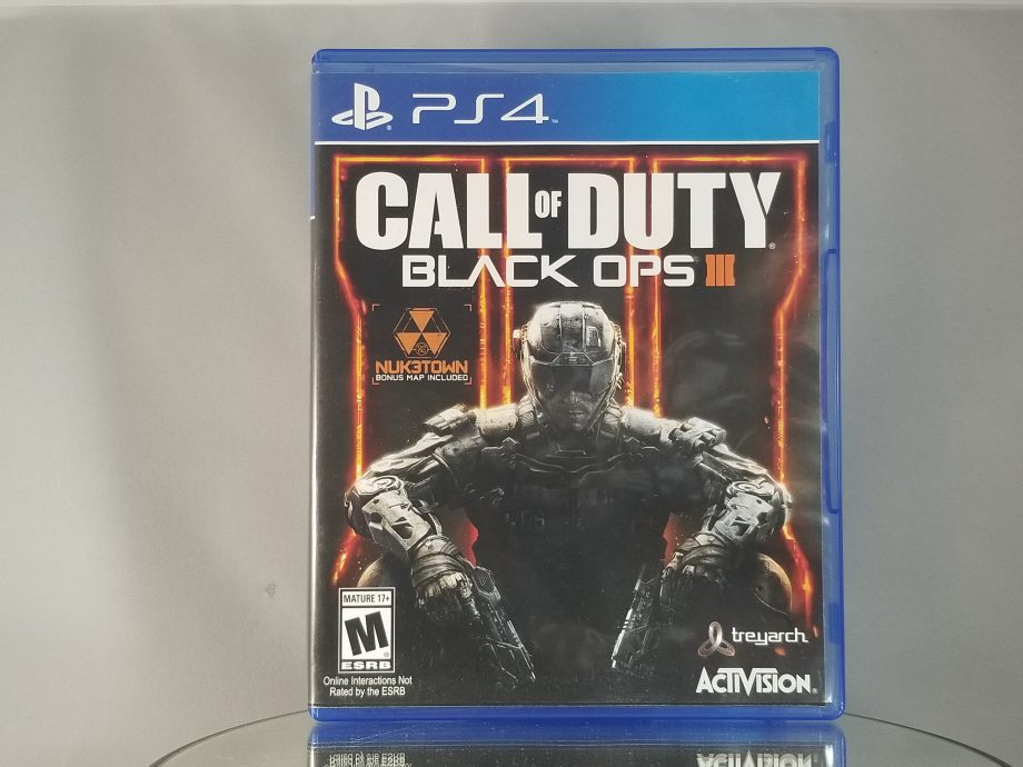 Call Of Duty Black Ops III Front