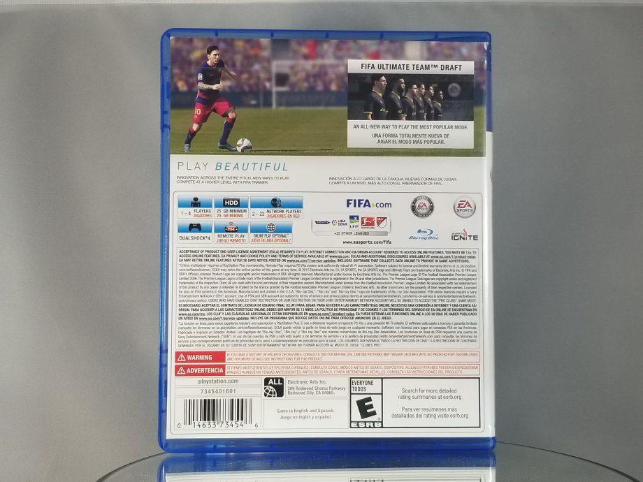 FIFA 16 Back