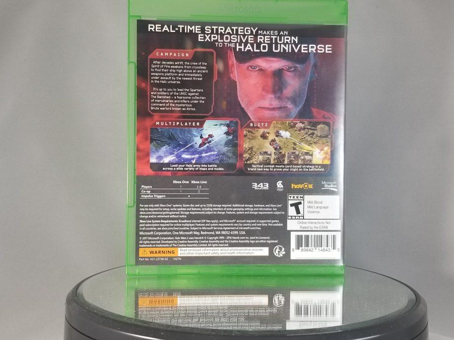Halo Wars 2 Back