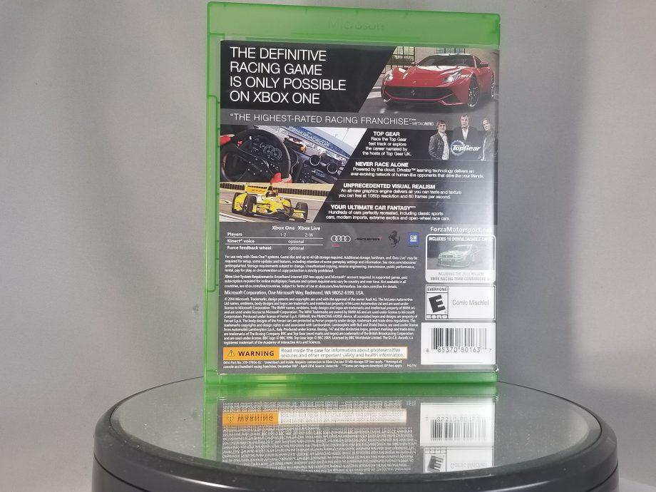 Forza Motorsport 5 Back