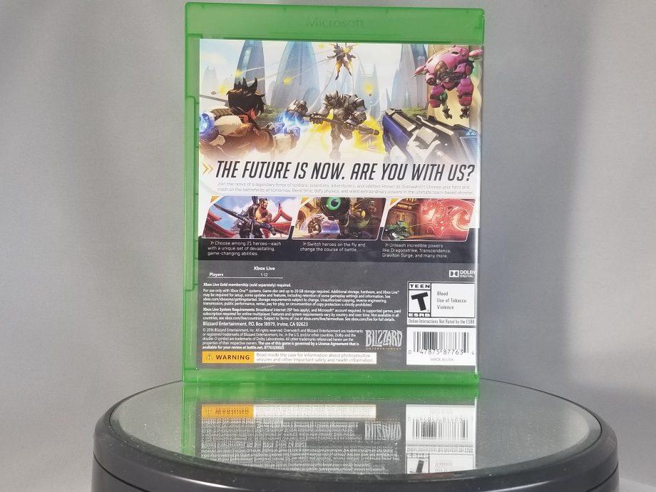 Overwatch Origins Edition Back