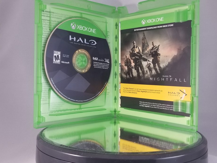 Halo The Master Chief Collection Disc