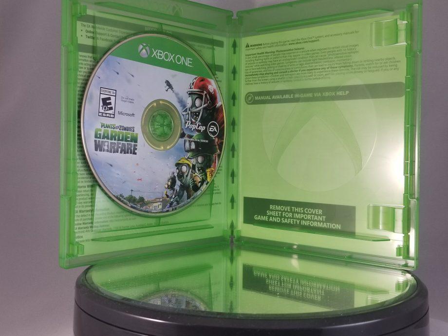 Plants VS Zombies Garden Warfare Disc
