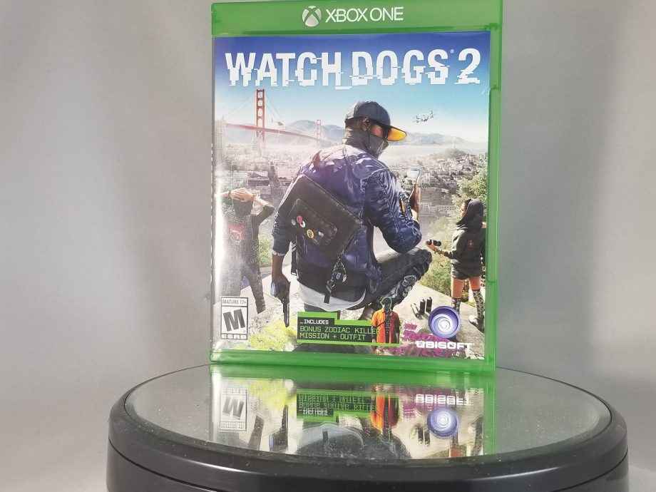 Watch Dogs 2 Front