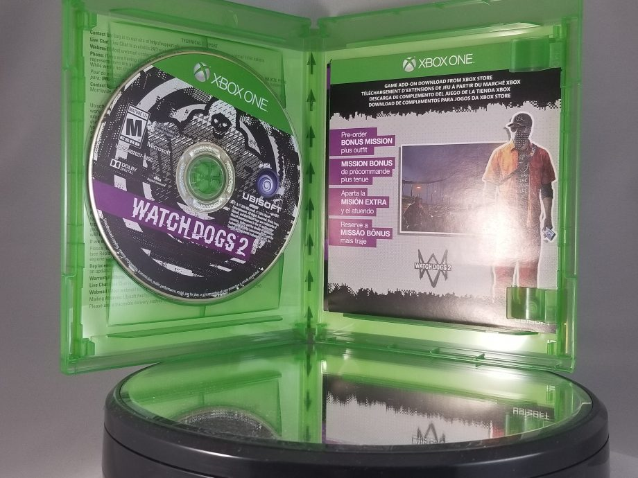 Watch Dogs 2 Disc
