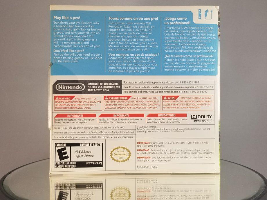 Wii Sports Back