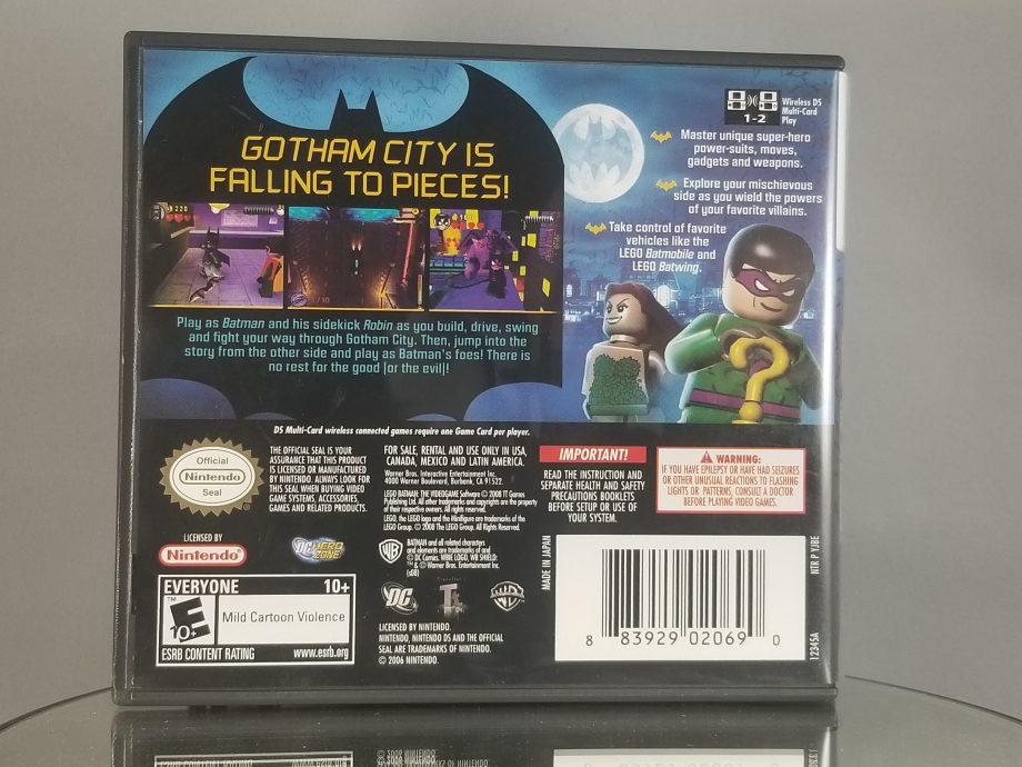 LEGO Batman The Videogame Back