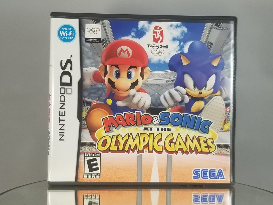 Mario And Sonic Olympic Games Front