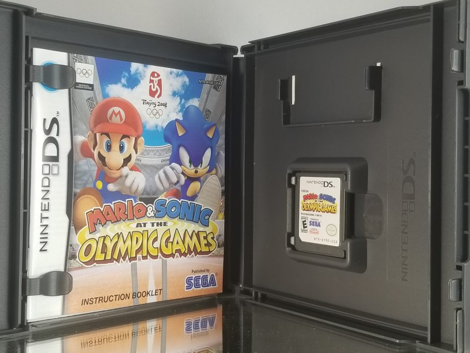 Mario And Sonic Olympic Games Disc