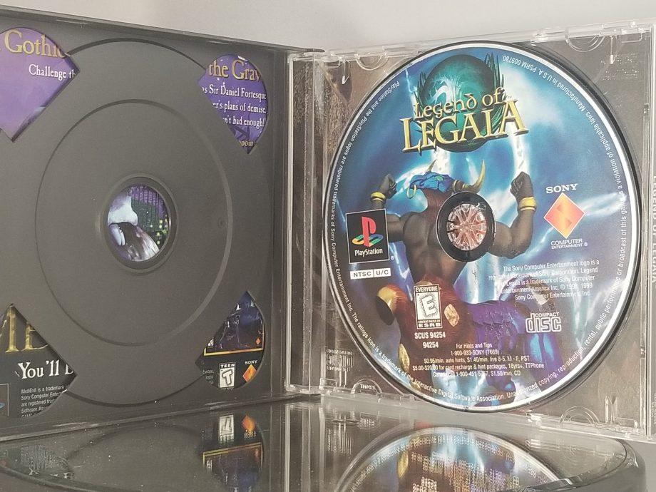 Legend Of Legaia Disc