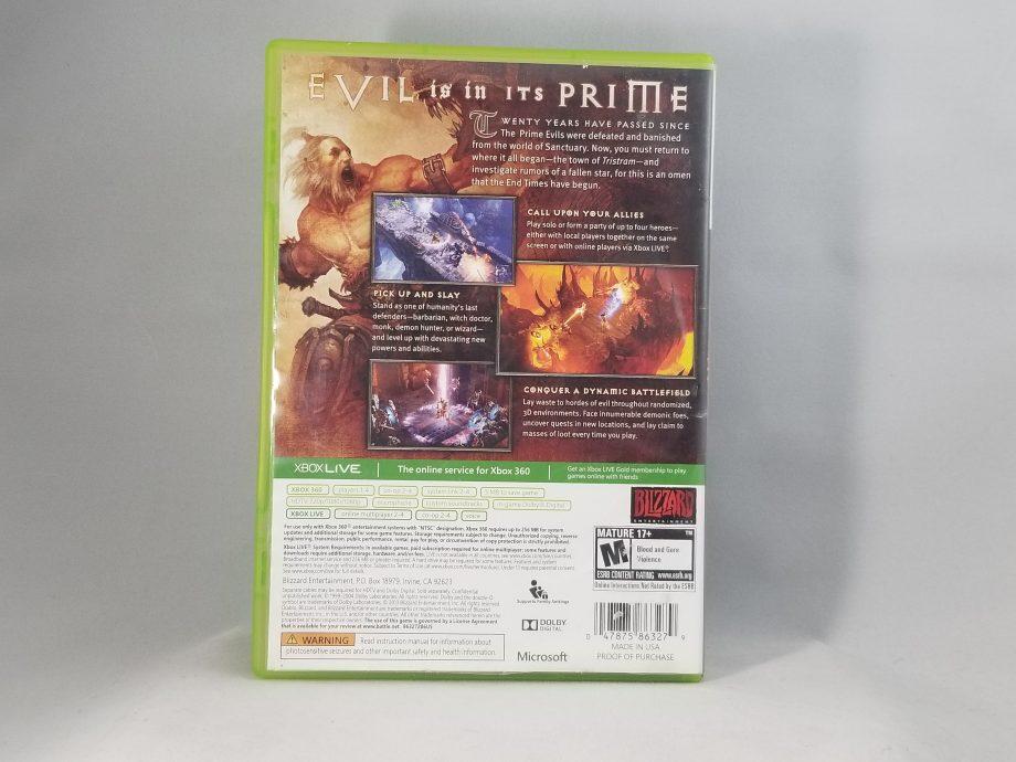 Diablo 3 Back