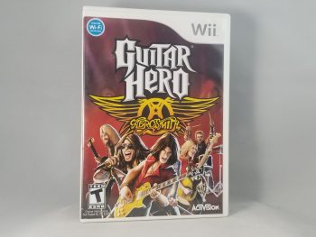 Guitar Hero Aerosmith Front