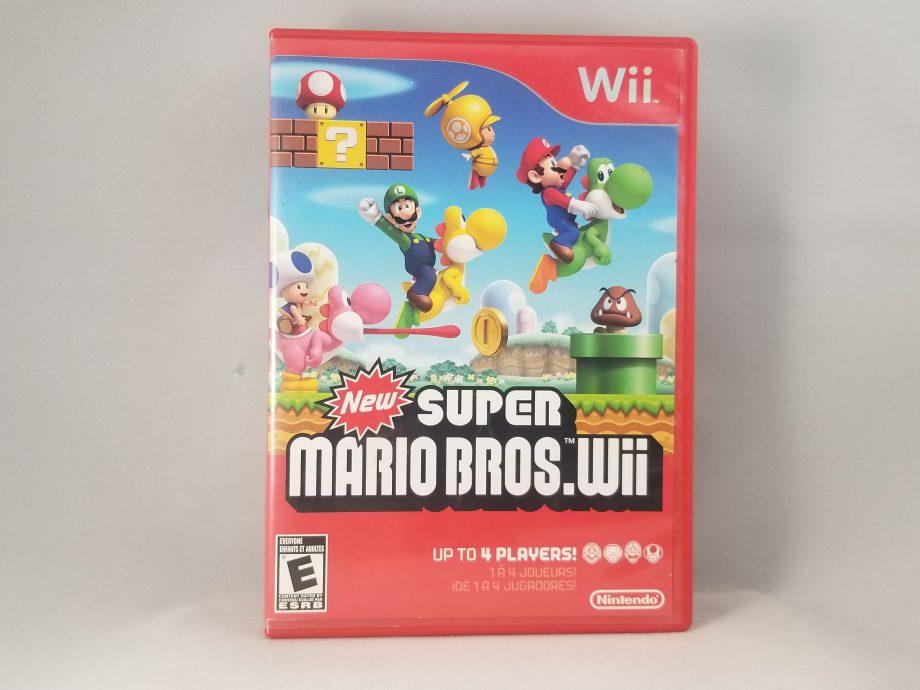 New Super Mario Bros. Wii Front