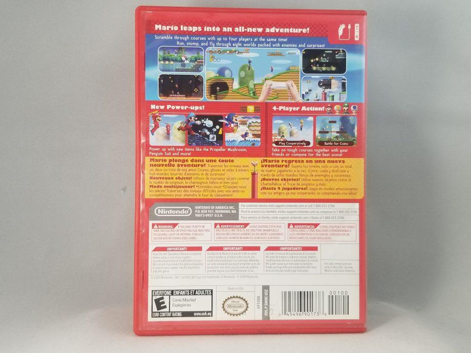 New Super Mario Bros. Wii Back