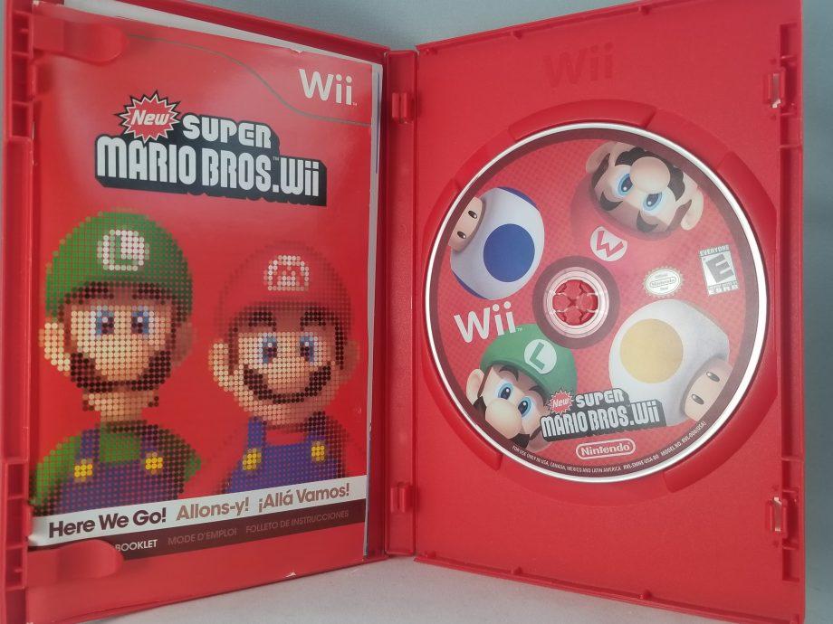 New Super Mario Bros. Wii Disc