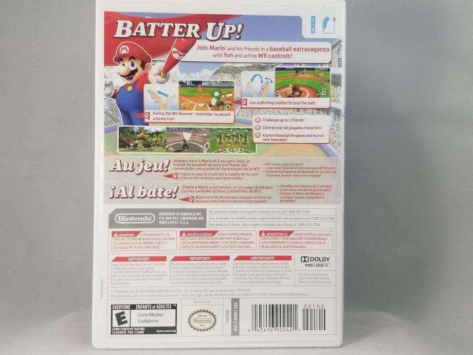 Mario Super Sluggers Back