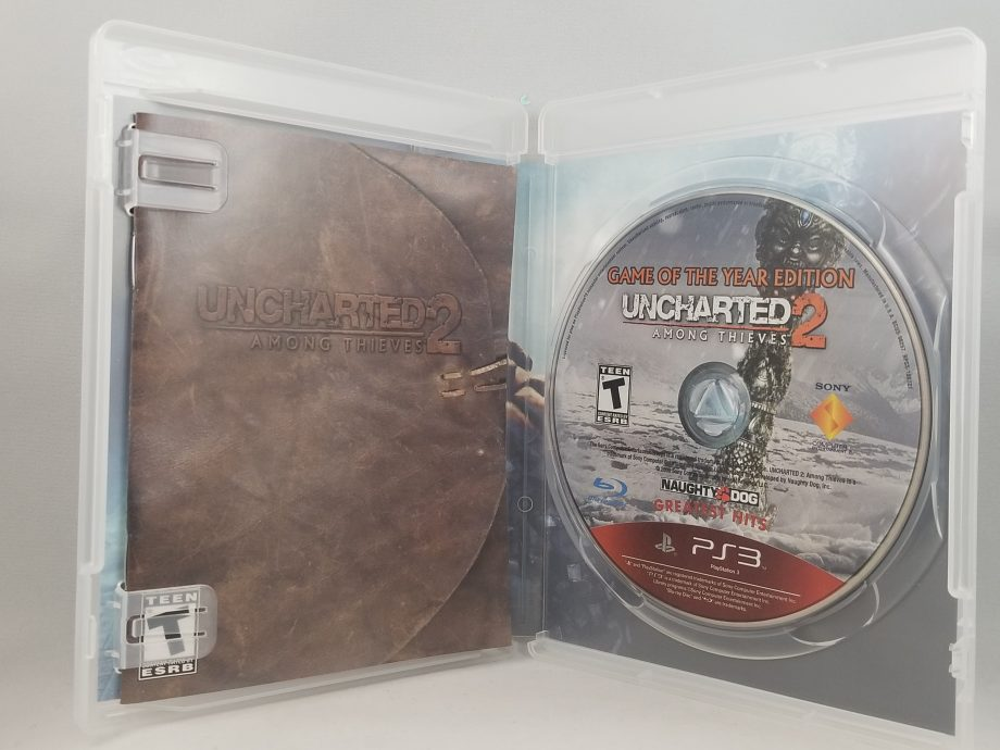 Uncharted 2 Among Thieves Disc