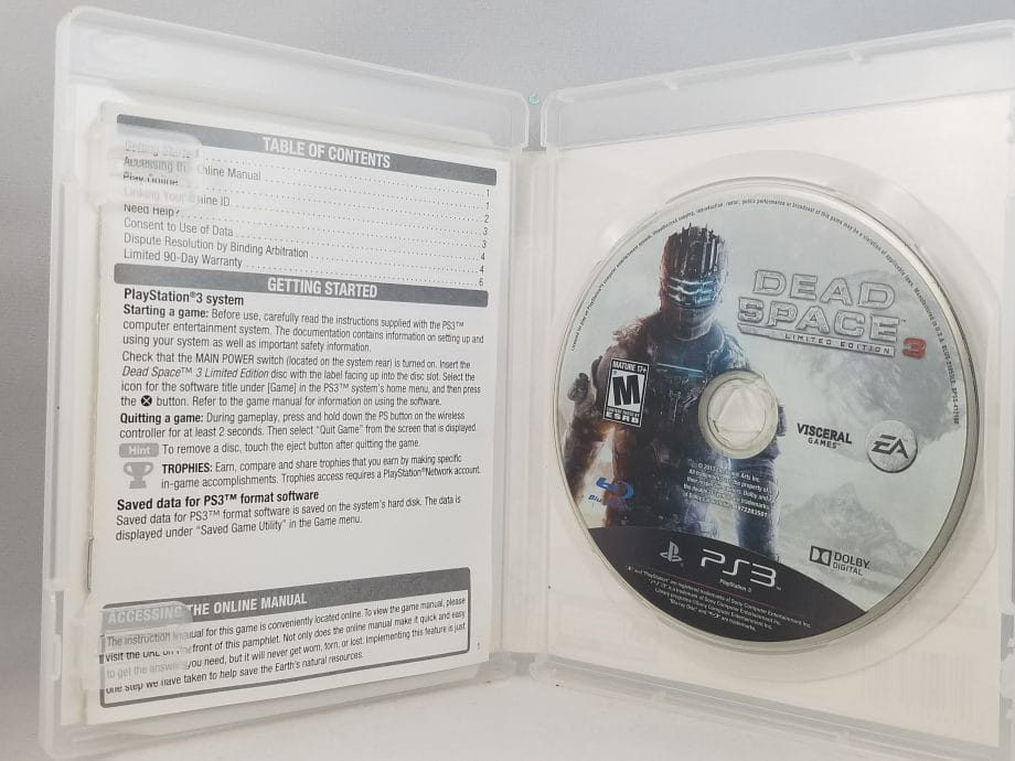 Dead Space 3 Limited Edition Disc