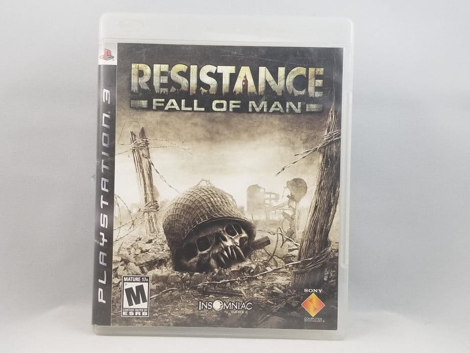Resistance Fall Of Man Front