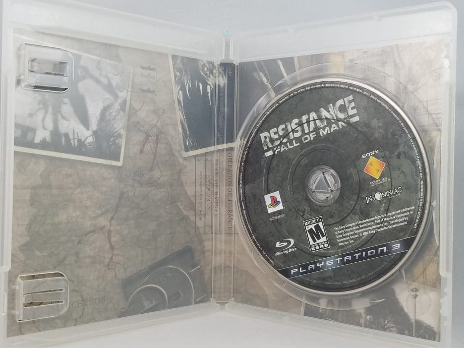 Resistance Fall Of Man Disc