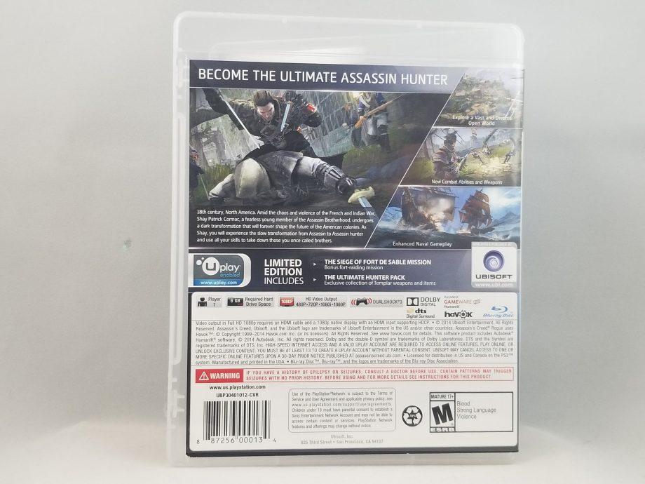 Assassin's Creed Rogue Back