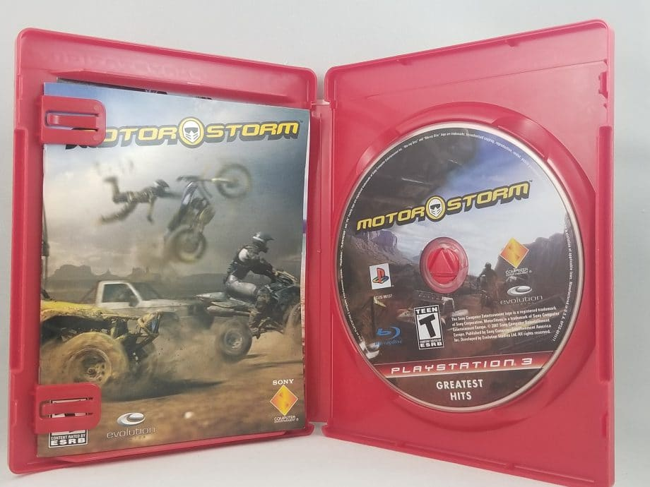 MotorStorm Disc