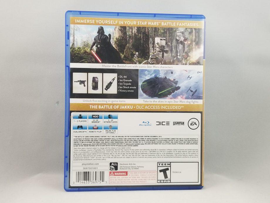 Star Wars Battlefront Deluxe Edition Back