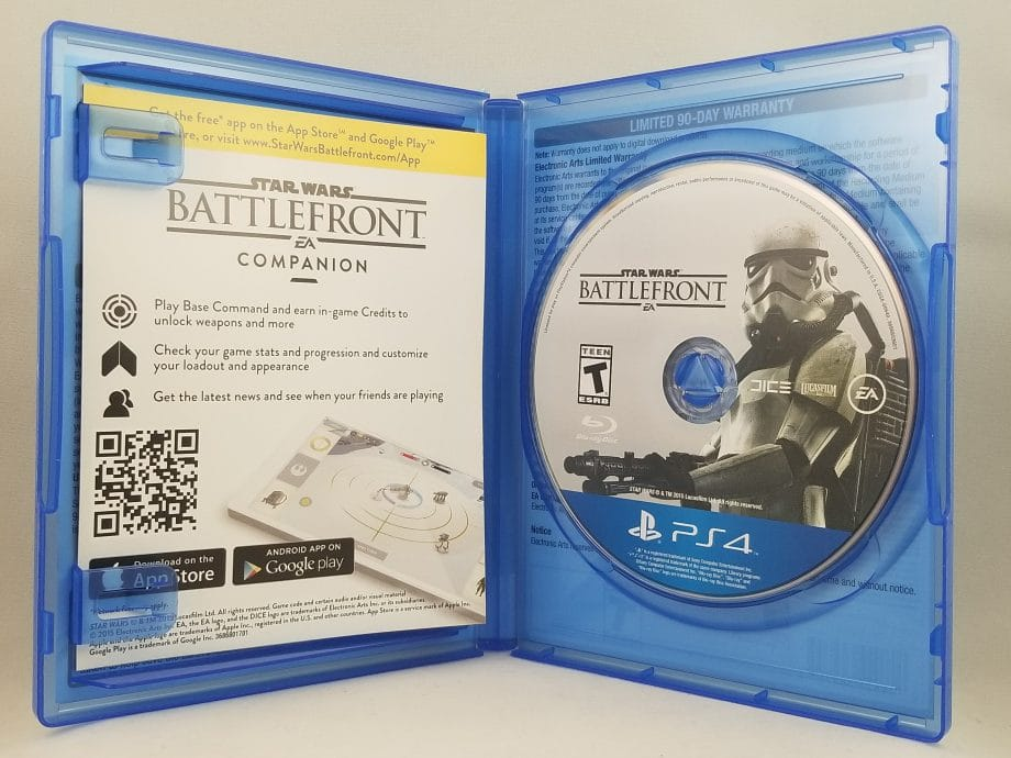 Star Wars Battlefront Deluxe Edition Disc