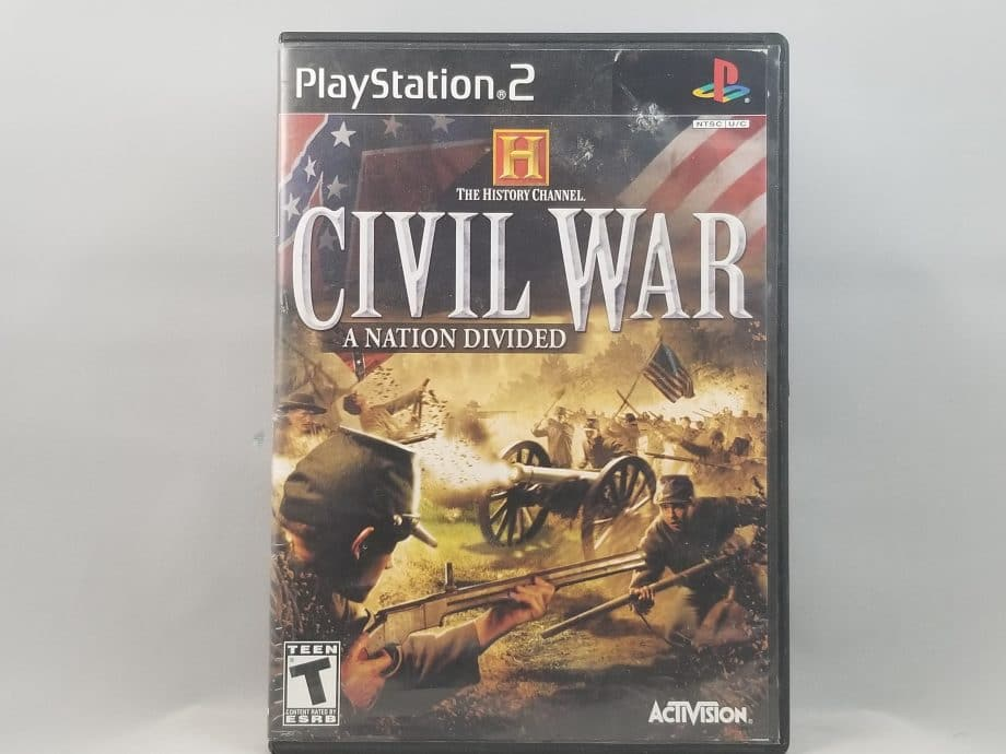 History Channel Civil War A Nation Divided Front