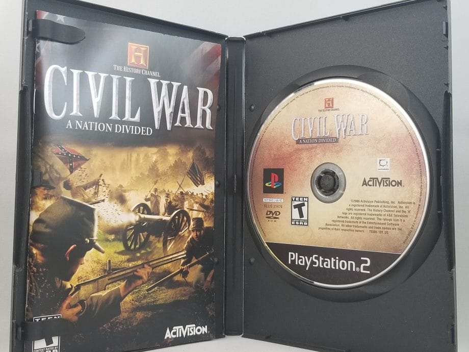 History Channel Civil War A Nation Divided Disc