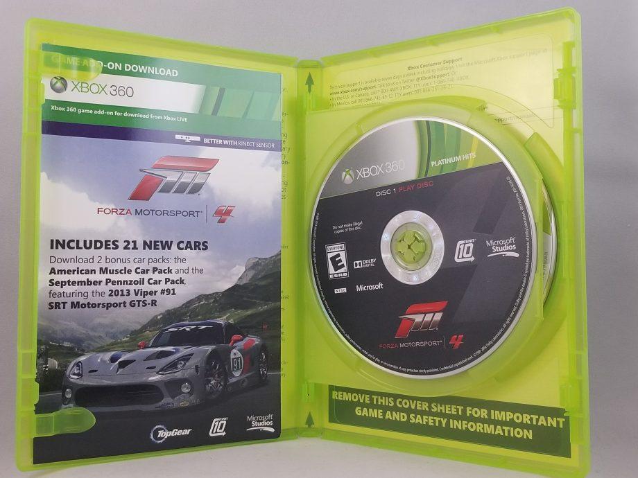 Forza Motorsport 4 Disc 1