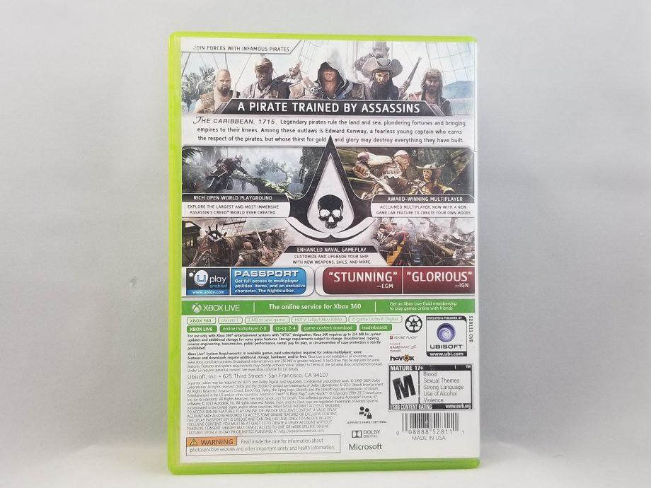 Assassin's Creed IV Black Flag Back
