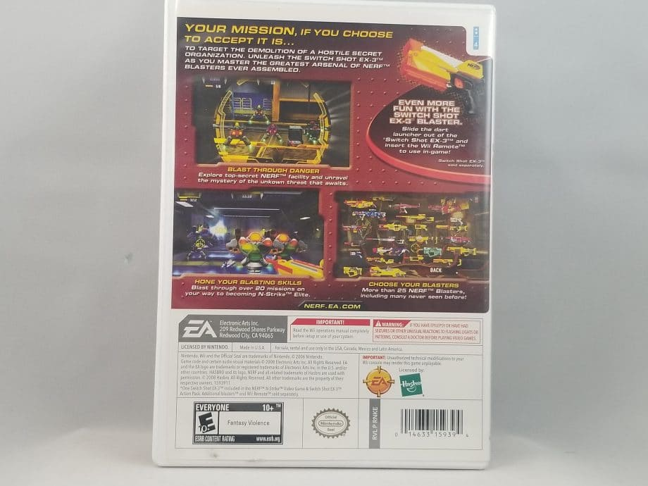 NERF N-Strike (Game Only)