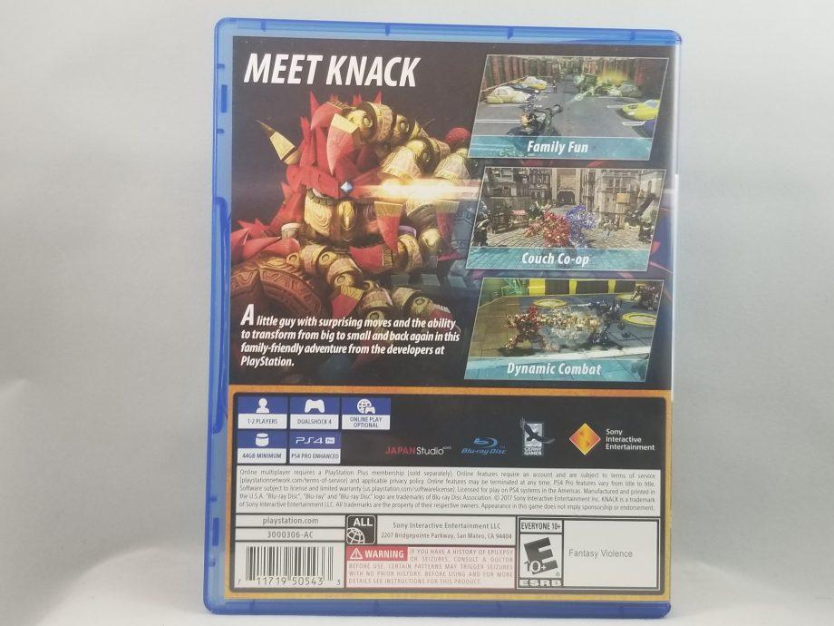 Knack II Back