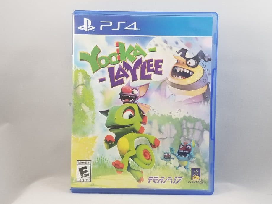 Yooka-Laylee Front